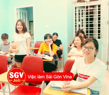 SGV, Sài Gòn Vina nhận sinh viên thực tập ngành ngôn ngữ toàn hệ thống