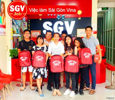 SGV, Cần nhân viên đăng bài ở Phú Nhuận