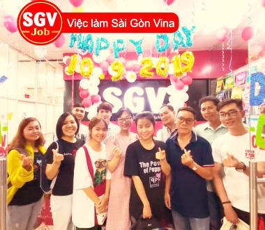 SGV, Nhận thực tập sinh tiếng Nhật ở Nguyễn Kiệm