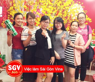 SGV, Nơi nhận thực tập sinh ở Sài Gòn Vina