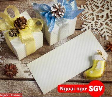 SGV, Cách viết bưu thiếp (thư) chúc mừng поздравительная открытка