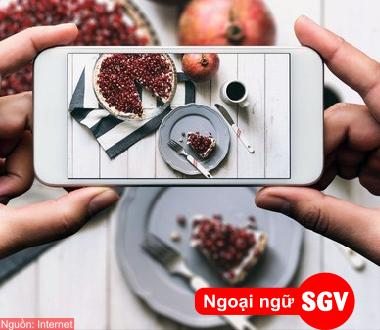 SGV, Từ vựng tiếng Hoa về một số danh từ, động từ dùng trong các hoạt động thường ngày