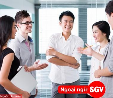 SGV, Các cụm từ giao tiếp thông dụng