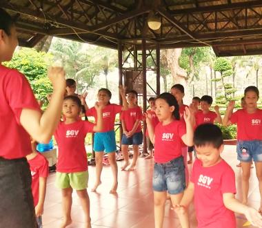Saigonvina, Tiếng Anh hè cho trẻ em quận Tân Bình