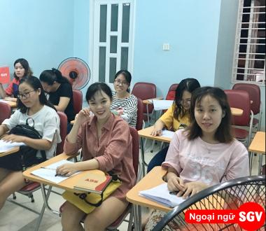 SGV, Lớp học Toeic cho người mới bắt đầu quận Phú Nhuận
