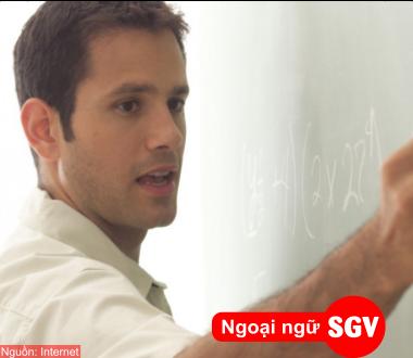 SGV, trang dong tu trong tieng nga