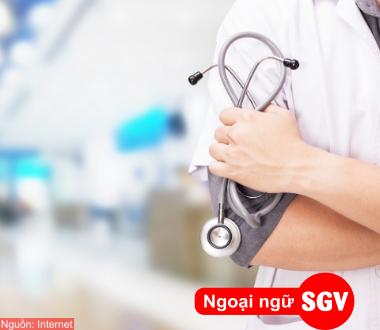 SGV, Hội thoại ở bệnh viện bằng tiếng Trung