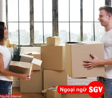 SGV, Mẫu câu giao tiếp tiếng Hoa về chủ đề gửi đồ