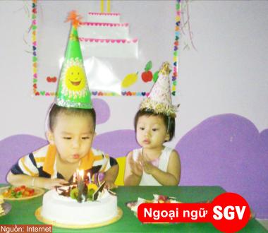 SGV, thi tuong lai gan trong tieng phap
