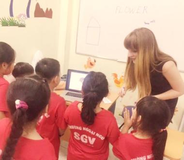 SGV, Tiếng Anh cho bé 3 tuổi tại Đồng Nai