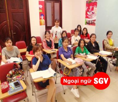 SGV, Lớp học tiếng Anh cuối tuần