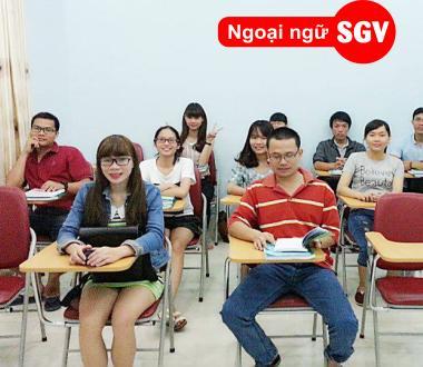 SGV, Khoá học tiếng Nhật thương mại ở tphcm