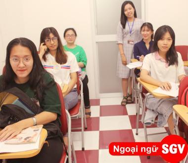 SGV, Khóa học tiếng Anh cho người mất căn bản