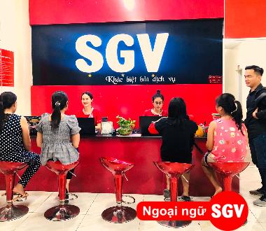SGV, Trung tâm gia sư ngoại ngữ TP.HCM