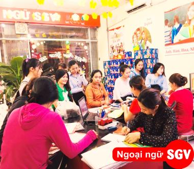 SGV, Trường Nhật ngữ Sài Gòn Vina