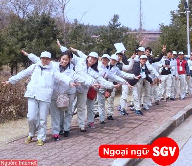 SGV, Khoá học tiếng Hàn xuất khẩu lao động 2020 ở Bình Dương