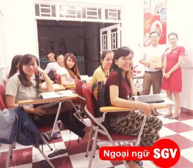 SGV, Tiếng Anh cho người đi làm ở Biên Hòa, Đồng Nai