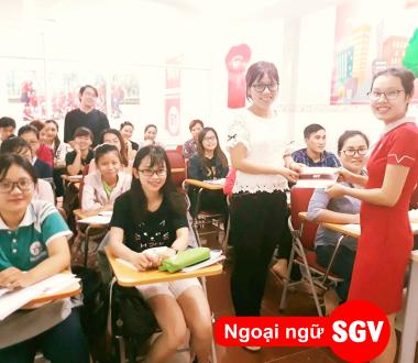 SGV, Thông báo lịch khai giảng khóa học tiếng Thái, Lào, Khmer