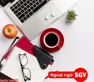 SGV, Từ vựng tiếng Anh về dụng cụ văn phòng