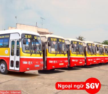 SGV, Từ vựng tiếng Hàn về Giao thông đường bộ (Phần 2)