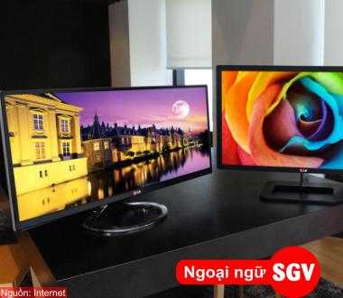 SGV, Từ vựng tiếng Hàn về máy tính