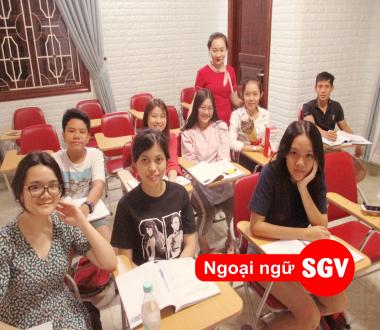 SGV, Gia sư tiếng Nhật SaiGon Vina