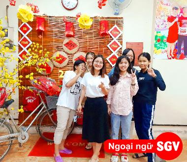 SGV, Dạy kèm tiếng Anh ở Thủ Dầu Một