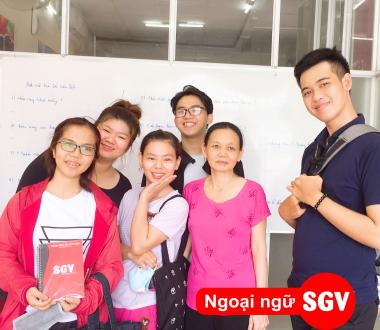 SGV, Dạy kèm tiếng Anh TP.HCM