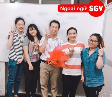SGV, Dạy kèm tiếng Nhật ở Thủ Dầu Một, Bình Dương