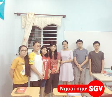 SGV, hoc tieng phap saigon vina