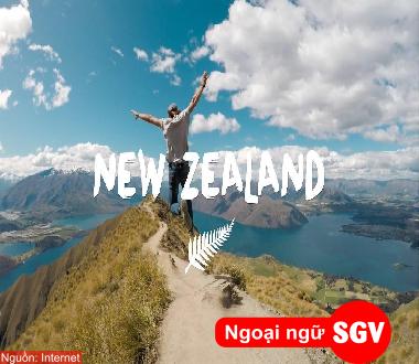 SGV, du học New Zealand