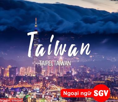 Saigonvina, du học Đài Loan 2020