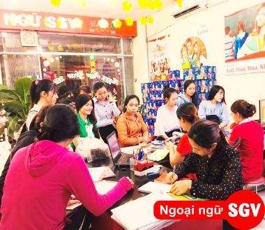 Sài Gòn Vina, 1 khóa học IELTS bao nhiêu tiền?