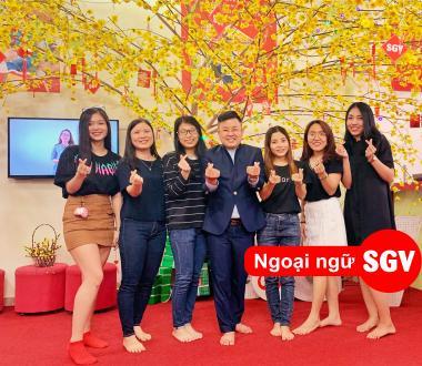 SGV, Trung tâm gia sư tiếng Anh ở Thuận An
