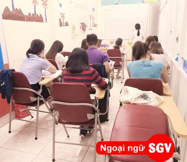 SGV, Học tiếng Hàn ở Bình Dương