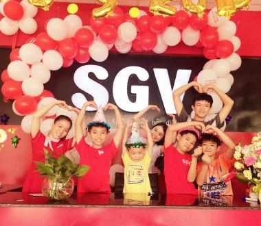 SGV, Tiếng Anh Hè Sài Gòn Vina Thủ Dầu Một