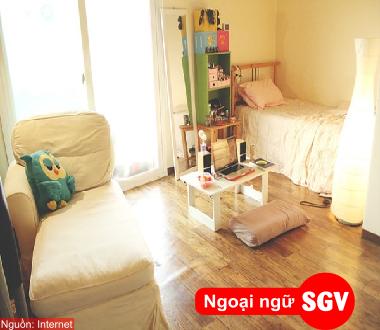 SGV, Từ vựng tiếng Hàn thông dụng khi thuê nhà tại Hàn Quốc
