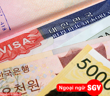 SGV, Thủ tục xin visa du học Hàn Quốc