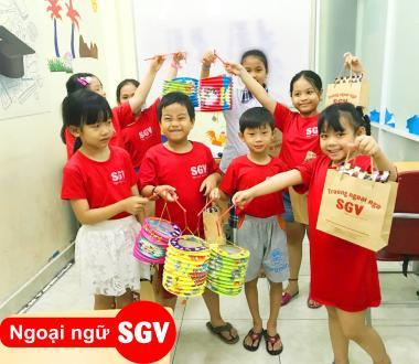 SGV, Khoá học tiếng Anh cho trẻ em ở Thuận An, Bình Dương