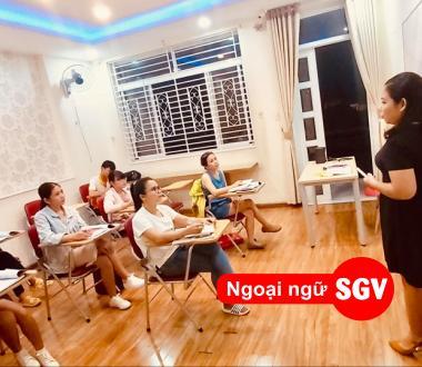 SGV, Khóa học tiếng Anh cho sinh viên