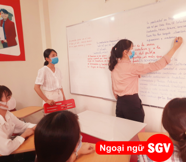 SGV, Dạy kèm tiếng Tây Ban Nha