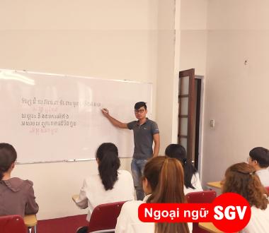 SGV, Dạy kèm tiếng Khmer SaiGon Vina