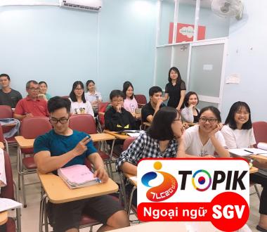 SGV, Chứng chỉ tiếng Hàn TOPIK