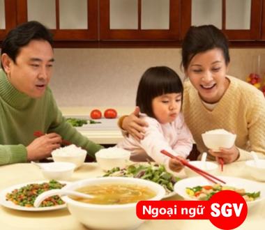 Ăn cơm chưa tiếng Hàn là gì, ngoại ngữ Sài Gòn Vina
