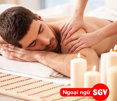 Nhân viên massage tiếng Anh là gì, ngoại ngữ sài Gòn Vina