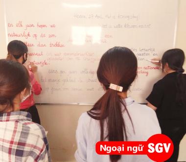 Sài Gòn Vina, học ngoại ngữ có khó không