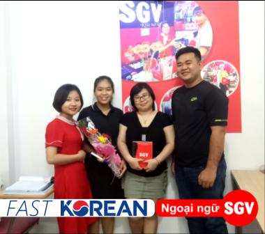 Sài Gòn Vina, Gia sư dạy tiếng Hàn cấp tốc ở Tân Bình