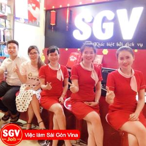 Sài Gòn Vina, Tuyển gấp nhân viên văn phòng tại Quận 6, TP.HCM