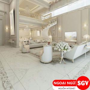 Sài Gòn Vina,  Tiếng Anh khách sạn