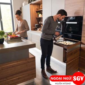 Sài Gòn Vina, Từ vựng tiếng Nhật về nấu ăn